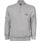 North 56°4 Grey Melange Sweatshirt 2XL-8XL thumbnail