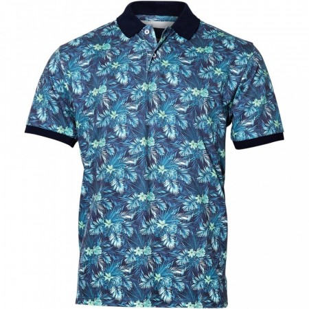 North 56°4 Flower Polo 2XL-5XL
