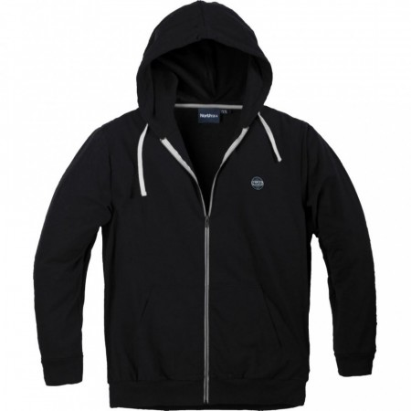 North 56°4 Cardigan W/hood Black XL-8XL