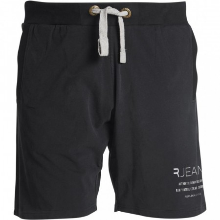 Replika Sweat Shorts Black 2XL-7XL
