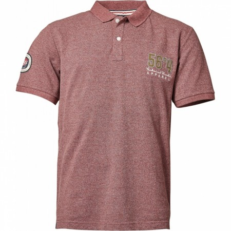 North 56°4 Bordeaux Polo 3XL-8XL