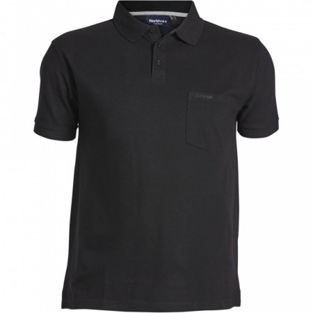 North 56°4 Polo Pique Black XL-8XL
