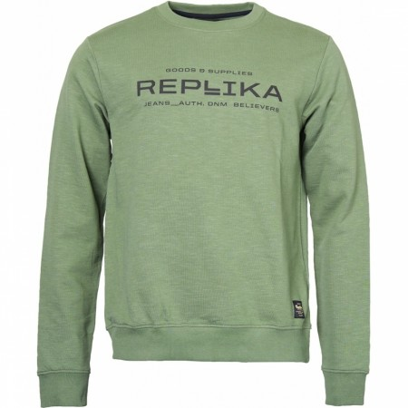 Replika Jeans Crew Neck Sweatshirt 2XL-8XL