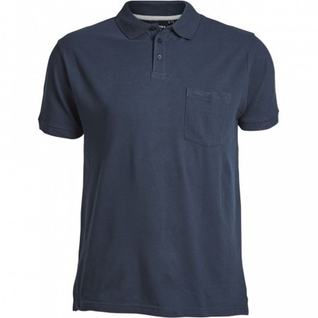 North 56°4 Polo Pique Navy Blue XL-8XL