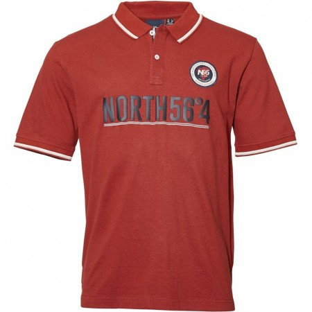 North 56°4 Wine Red Polo S/s 6XL+7XL
