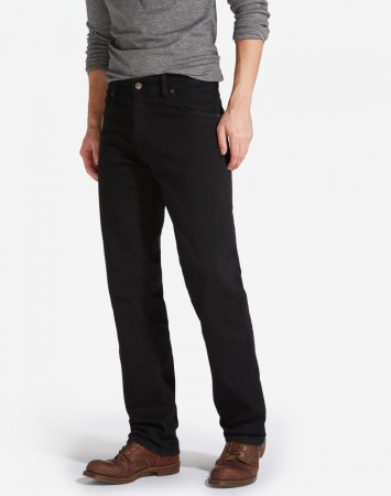 Wrangler Jeans Texas Stretch Black Overdye 31