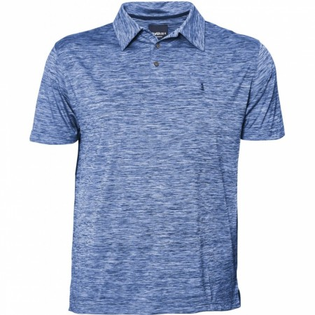 North 56°4 Blue Melange Polo S/s 6XL