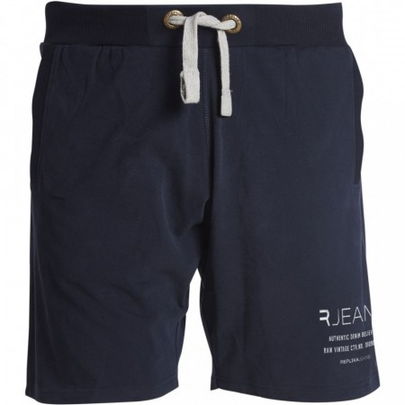 Replika Sweat Shorts Navy Blue 2XL-7XL