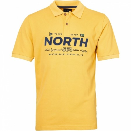 North 56°4 Polo W/print And Embroidery 2XL-8XL