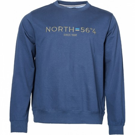 North 56°4 Sweatshirt W/embroidery 2XL-8XL