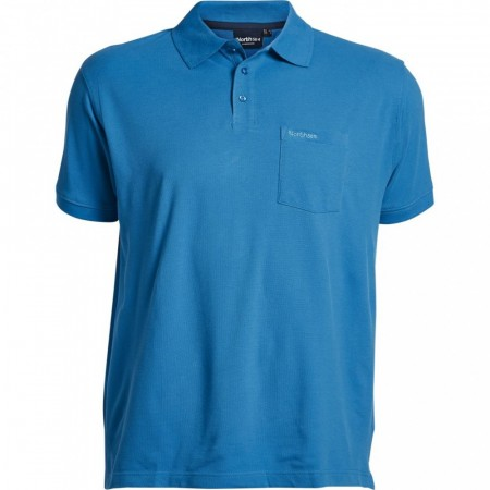 North 56°4 Polo Pique Cobolt Blue XL-8XL